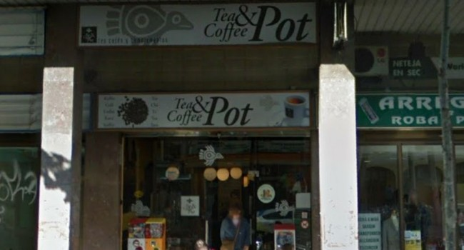 Esta tarde en Tea & Coffe Pot